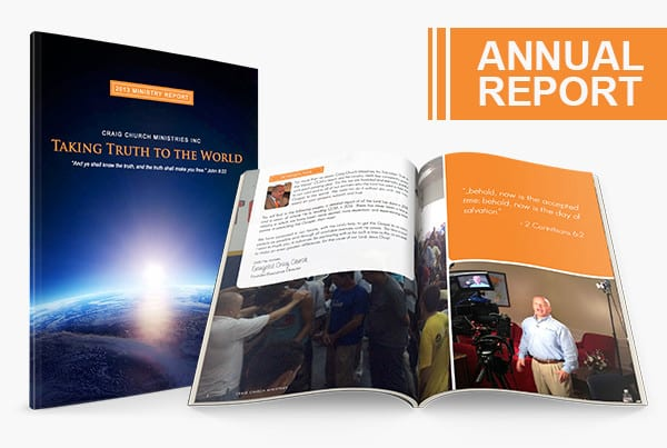 2013 CCM Ministry Report