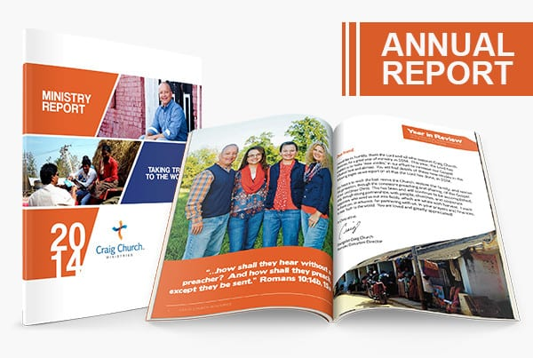 2014 CCM Ministry Report