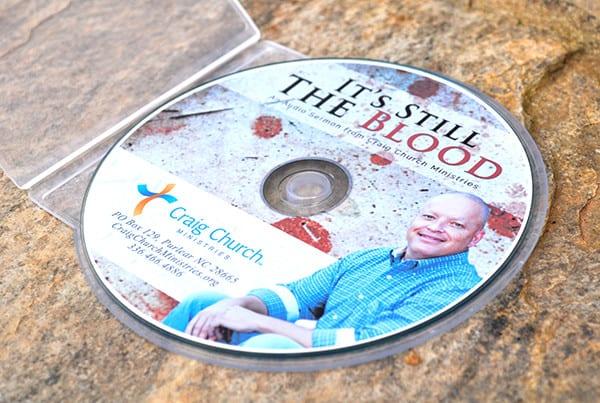 Still the Blood CCM CD Design