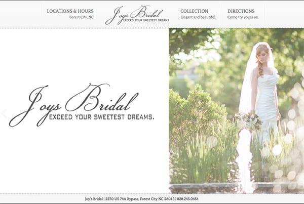 Joy's Bridal