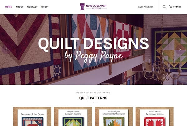 New Covenant Quilting Website